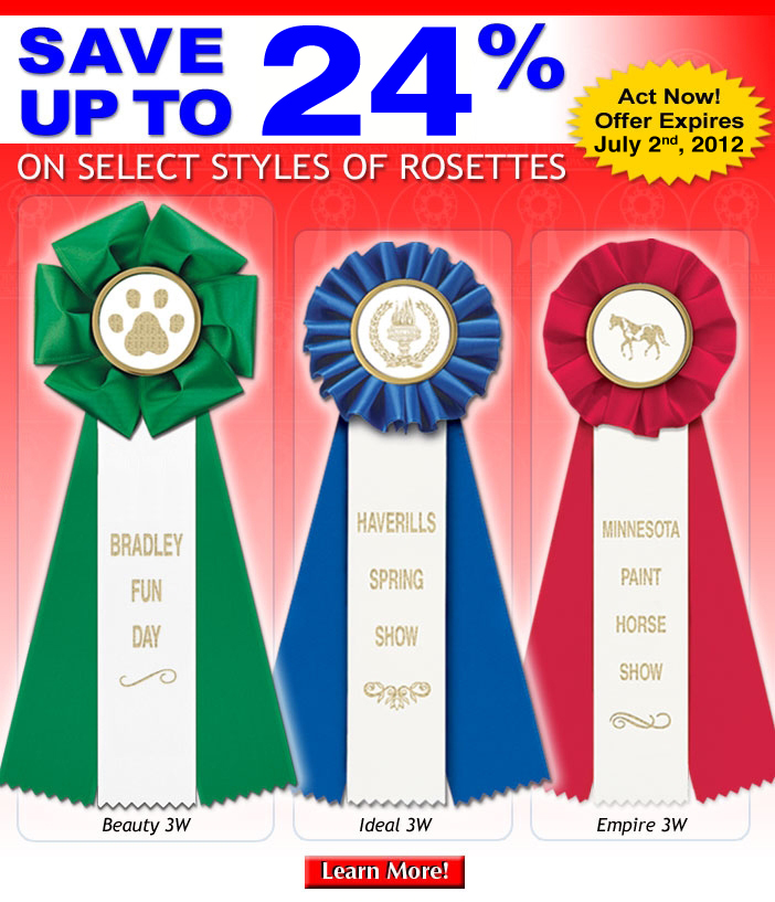 Up to 24% off on Select Rosettes