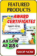 Full Color Custom Certificates as low as $.25
