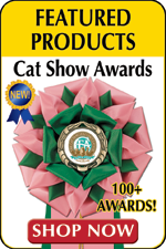 100+ Cat Show Awards.