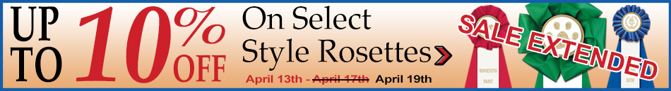 Up to10% Off Select Rosettes