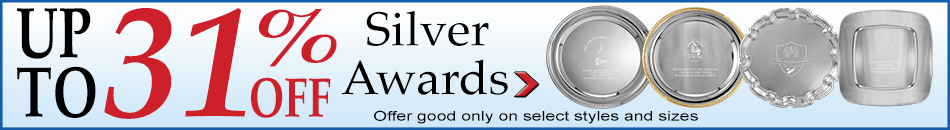 Up to 31% Off Silver Awards