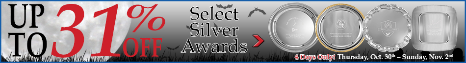 Up to 31% Off Select Silver Awards